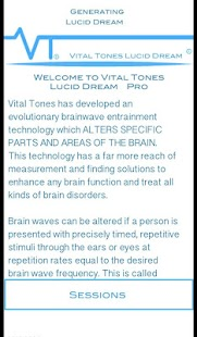 Vital Tones Lucid Dreams- screenshot thumbnail