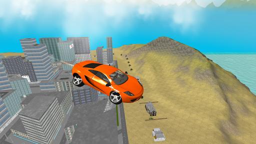 San Andreas Futuristic Car 3D
