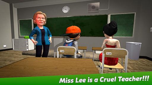 Crazy Scary Evil Teacher 3D - Spooky Game 1.1 screenshots 8