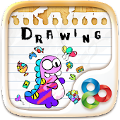 Drawing GO Launcher Theme