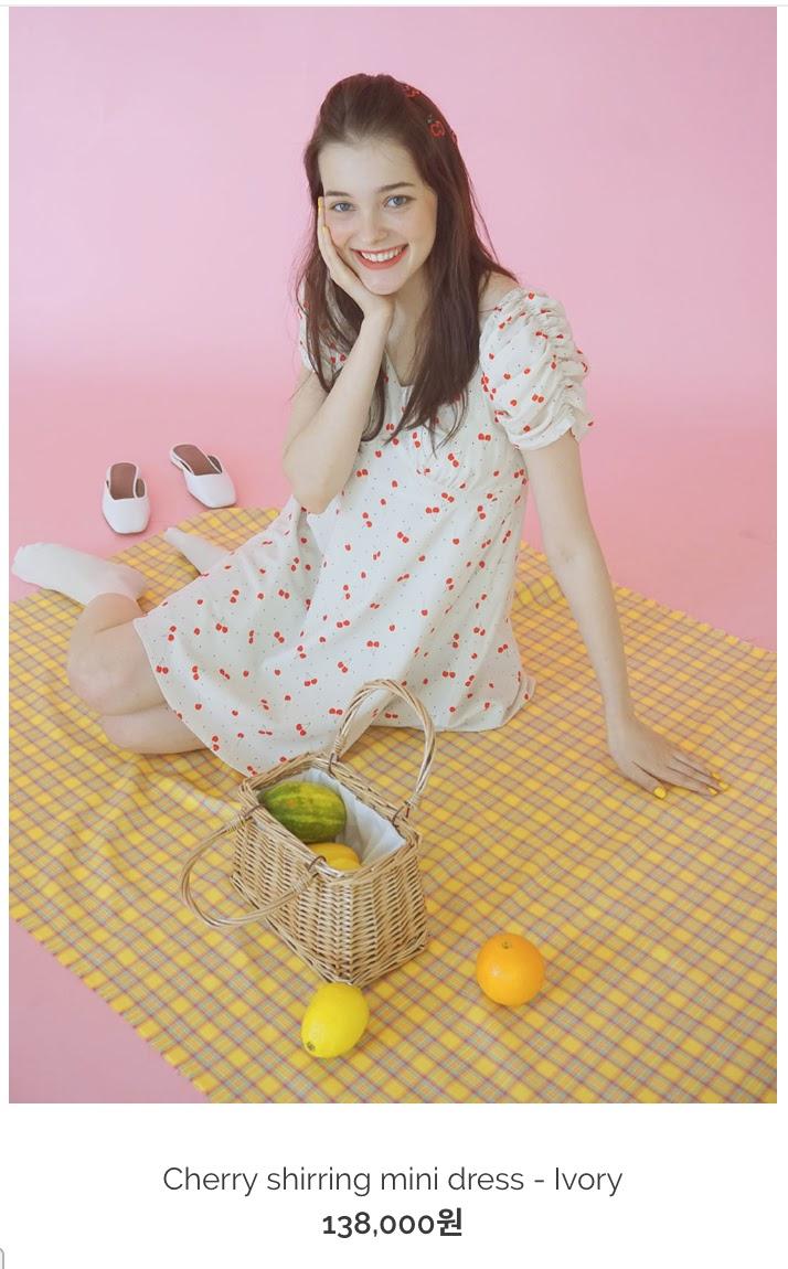 nayeon favorite dress white