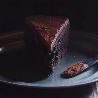 Dark Chocolate Baileys Mud Cake