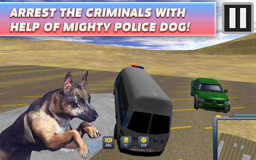 Minibus with Dog Detective