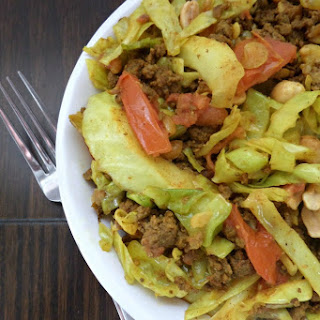 Thai Beef and Cabbage