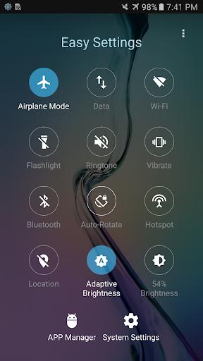 Easy Settings - Quick Toggles 2.6 screenshots 6