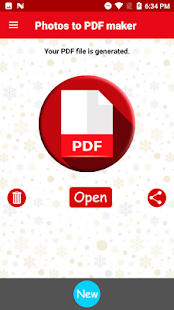 Photos to PDF maker to Copy & Save Pictures in PDF - náhled
