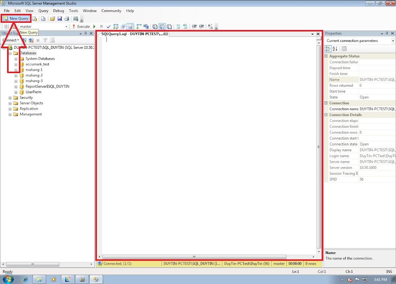 Hướng Dẫn Backup Và Restore Databases Gerber Accumark Trong SQL Server 12