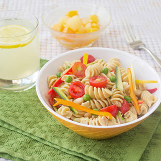Packable Caesar Pasta Salad