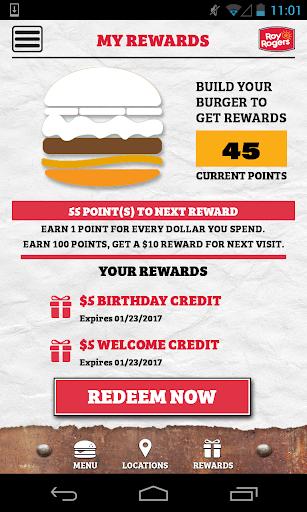 Roy's Rewards Screenshot