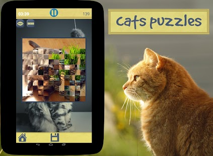 Cats Puzzles - náhled