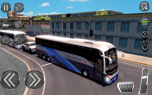 City Coach Bus Driving Sim : Bus Games 2020 screenshots 17