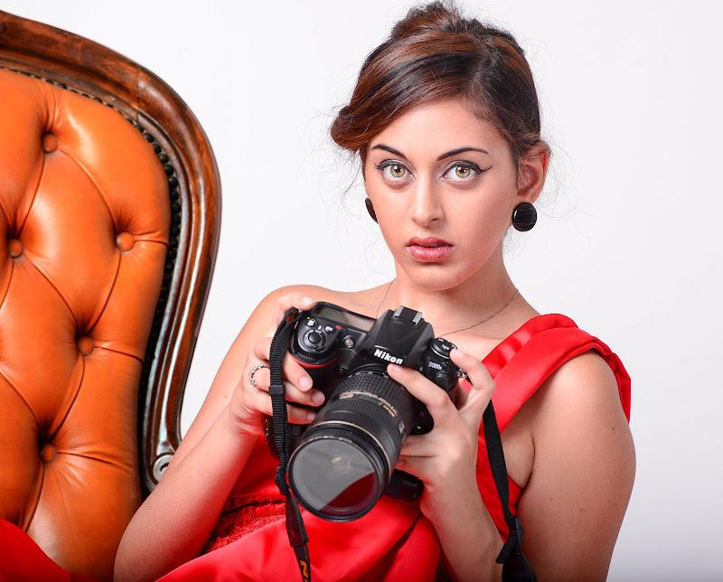 Fotografa ma anche modella di Diana Cimino Cocco