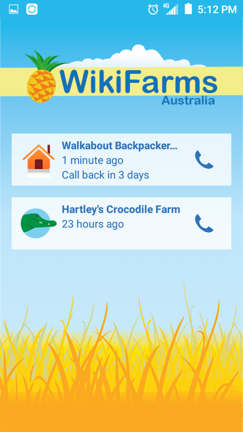 WikiFarms Australia- screenshot