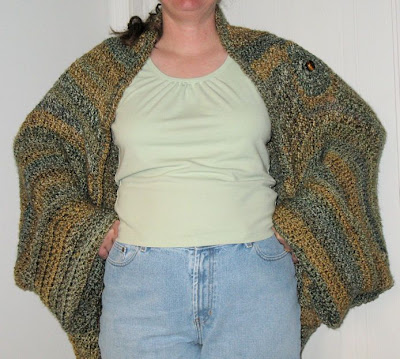 How to Make a Knit/Crochet Shrug | Lion Brand Notebook