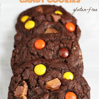 Leftover Halloween Candy Cookies {Gluten-free}