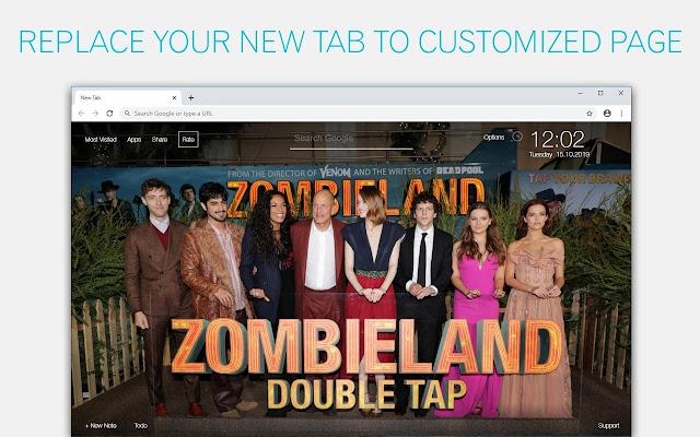 Zombieland Double Tap Custom New Tab
