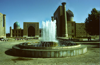 Photo: Samarkand, Registan