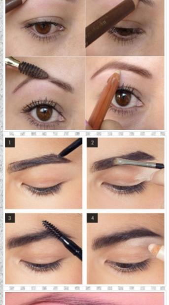 how to use eyebrow shaper. eyebrow shaping tutorials- screenshot how to use shaper