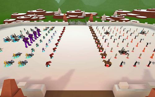 Screenshot 1 Epic Battle Simulator 1.6.50 APK MOD