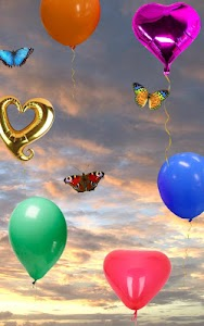 Balloons, live wallpaper screenshot 2