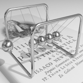 Newton's cradle Crazy Balls