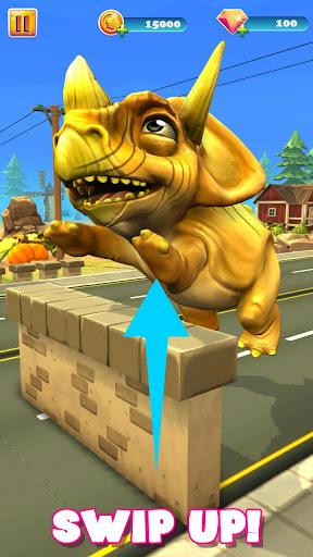 Dinosaur Running & Jumping Game: 3D Endless Runner 1.1.3 screenshots 2