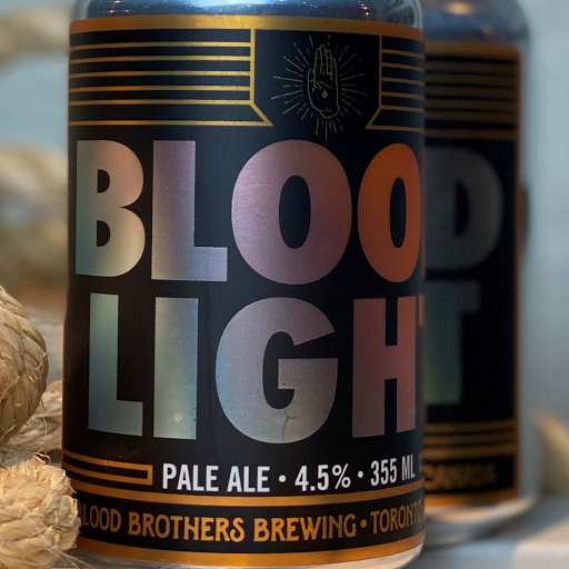 Blood Bros 'Blood Light' Ale 355 ml can Single