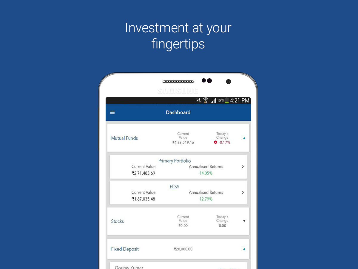 FundsIndia- screenshot