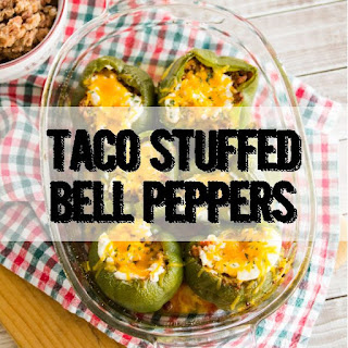 Taco Stuffed Bell Peppers.