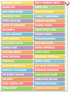 Indonesian Children's Songs 1