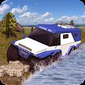 Offroad Centipede Truck 3D Sim icon