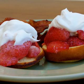 Strawberry Shortcakes (Gluten/Grain-Free).