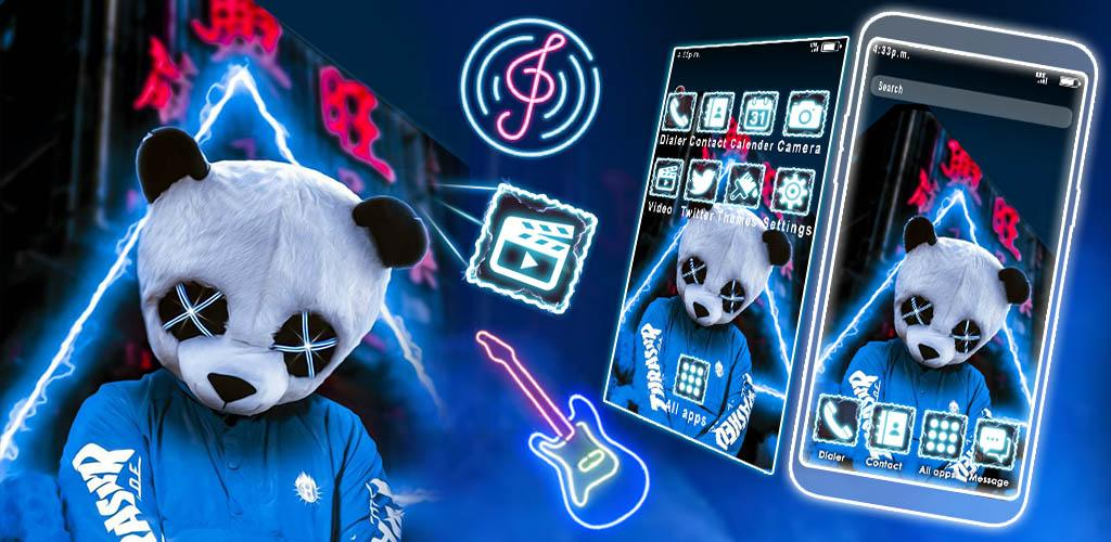 Download Neon Panda Boy Themes Live Wallpaper Free For Android Neon Panda Boy Themes Live Wallpaper Apk Download Steprimo Com