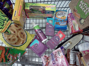 Photo: And now my cart is full and I am so ready to go home and try my new Poise products.