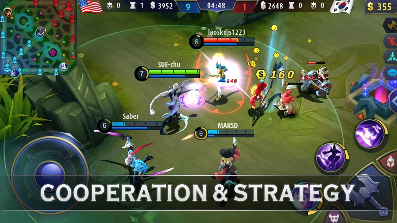 Mobile Legends: Bang Bang – zrzut ekranu