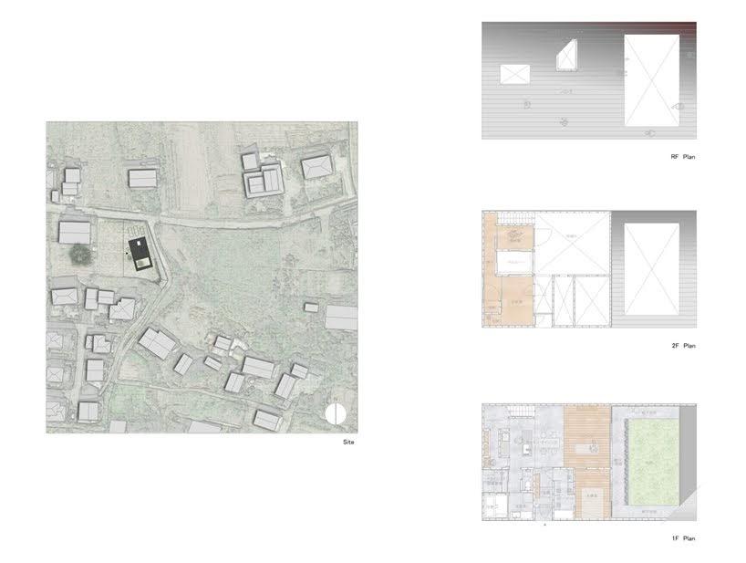 Casa en Usuki por Kenta Eto Architects