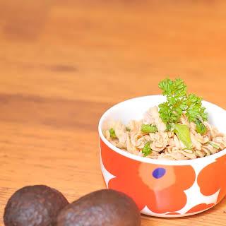 Caribbean Tuna Pasta Salad.