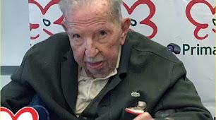 Cecilio Peregrín Martínez, falleció ayer con 95 años.