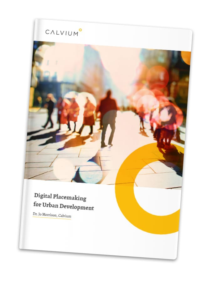 Cover of the white paper: Digital Placemaking for Urban Development