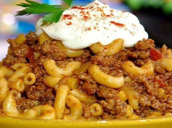 Old Fashioned Goulash Recipe