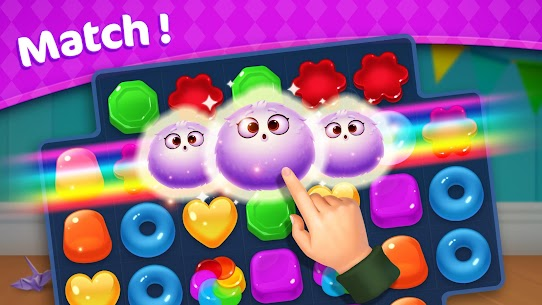 Jellipop Match-Decorate your dream town! 4