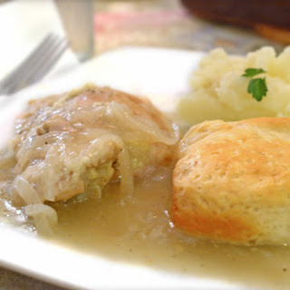 Mom's Easy Chicken and Biscuits Recipe and Cooking Video