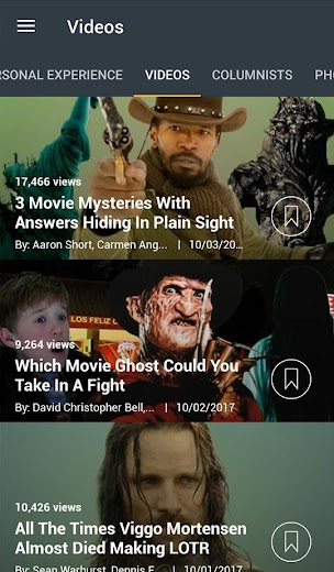 Screenshot 4 for Cracked's Android app'