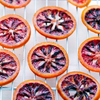 Easy Candied Blood Orange Slices