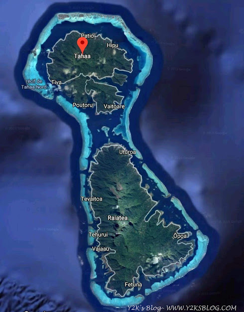 Raiatea, Taha'a e la loro barriera corallina