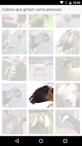 Cabras que gritam como pessoas screenshot 2