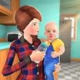 Virtual Family Babysitter Helping Mom Simulator 3D