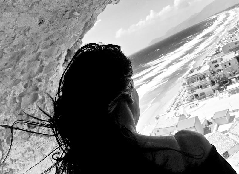 Pensiero libero verso il mare di pp
