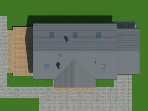 Chmielów z garażem mx - Sytuacja