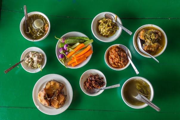 local Shan food